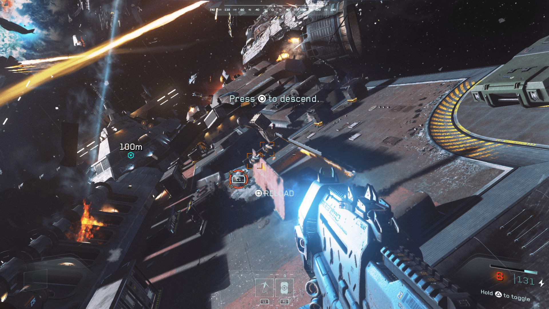 'Call of Duty: Infinite Warfare' PS4 Combat Space
