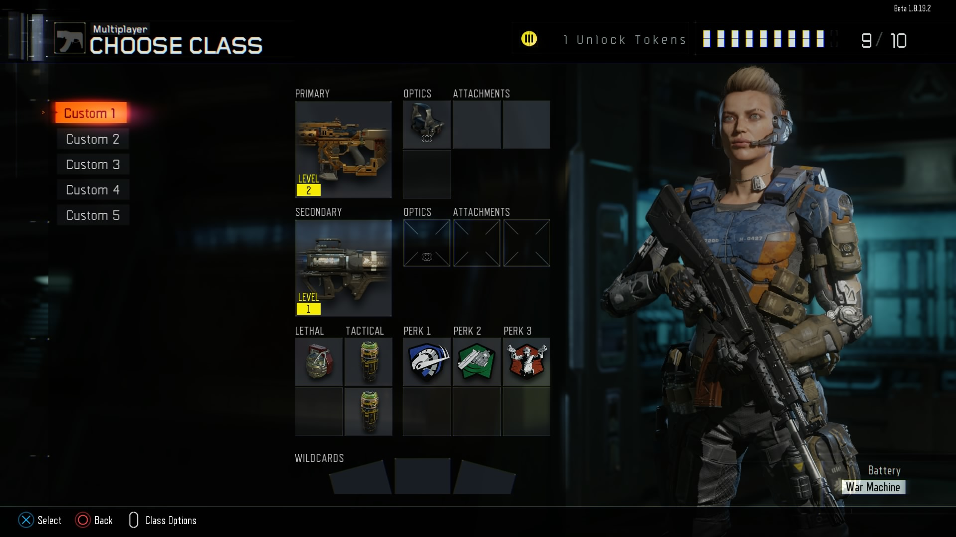 black ops 3 create a class slots