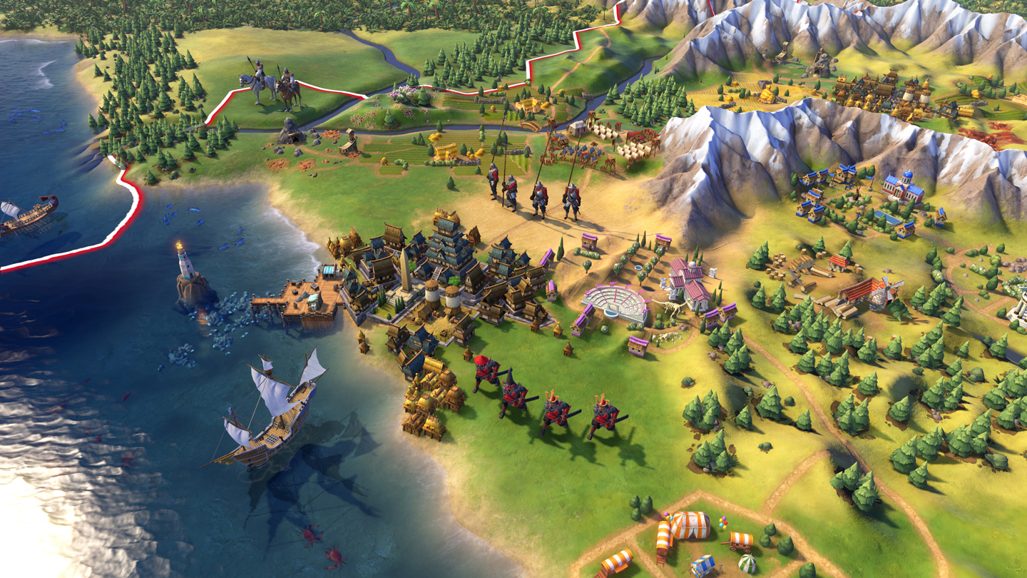 'Sid Meier's Civilization VI' screen