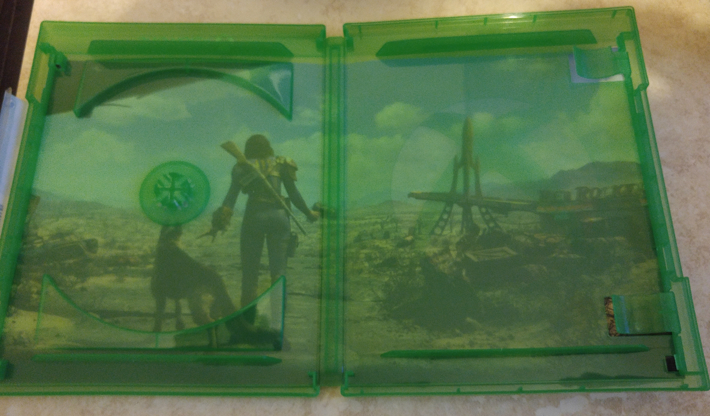 Fallout 4 Xbox One reversible cover