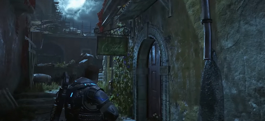 Gears of War 4 HDR Xbox One S