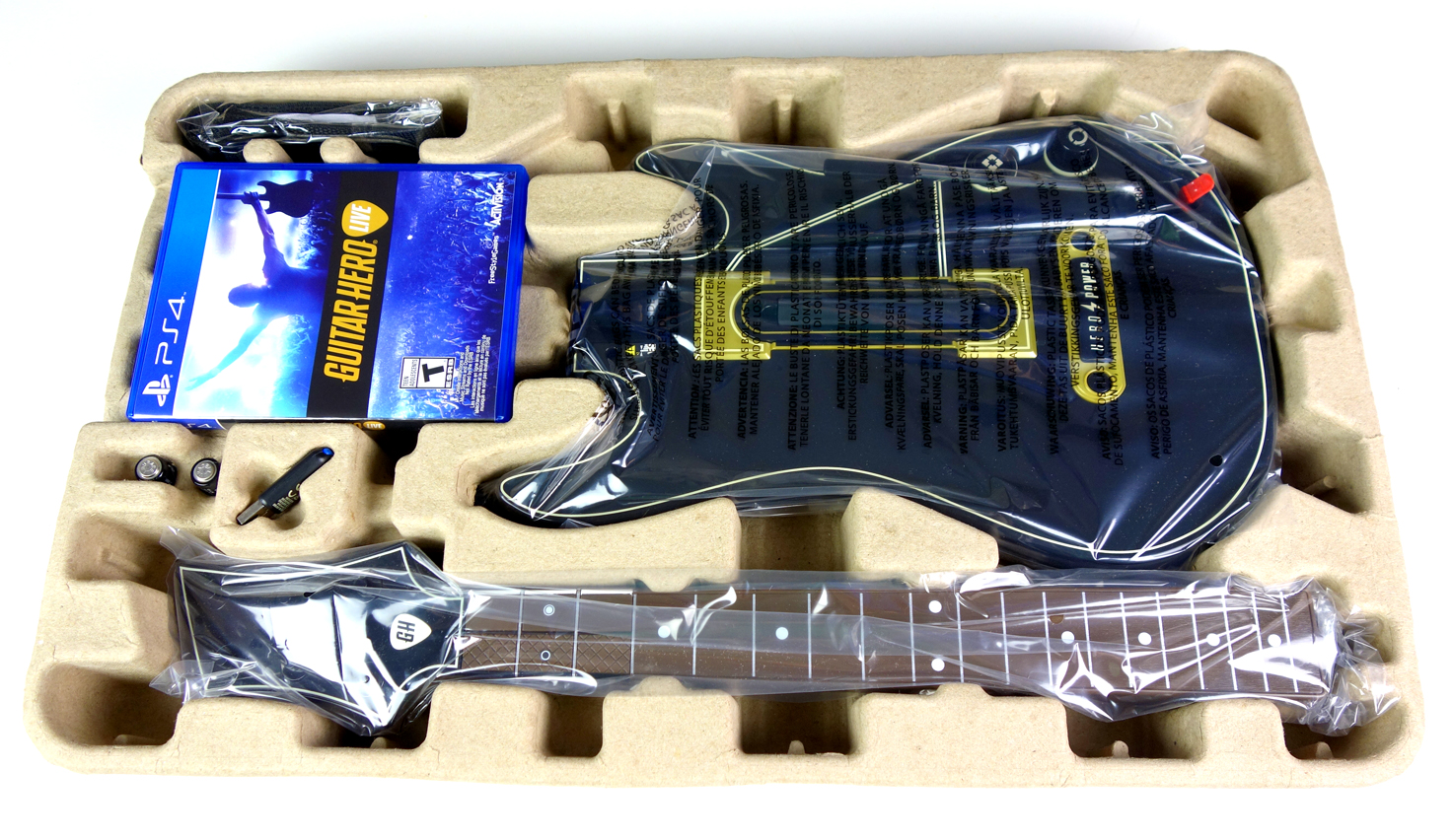 Guitar Hero Live PS4 Controller Unboxing