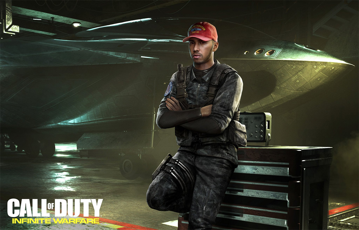 'Call of Duty: Infinite Warfare' Lewis Hamilton