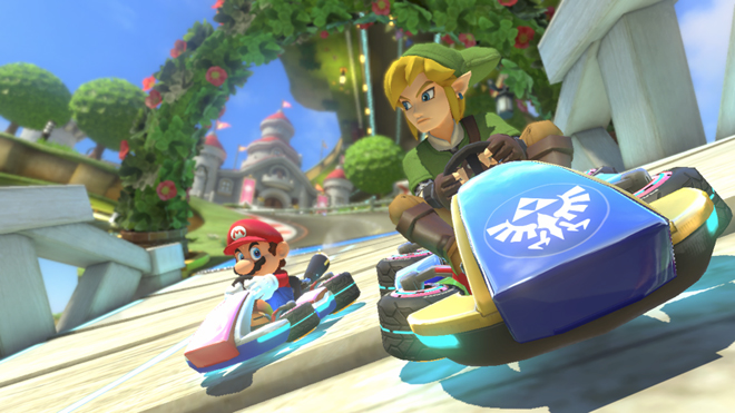 Mario Kart 8 DLC Link The Legend of Zelda Wii U