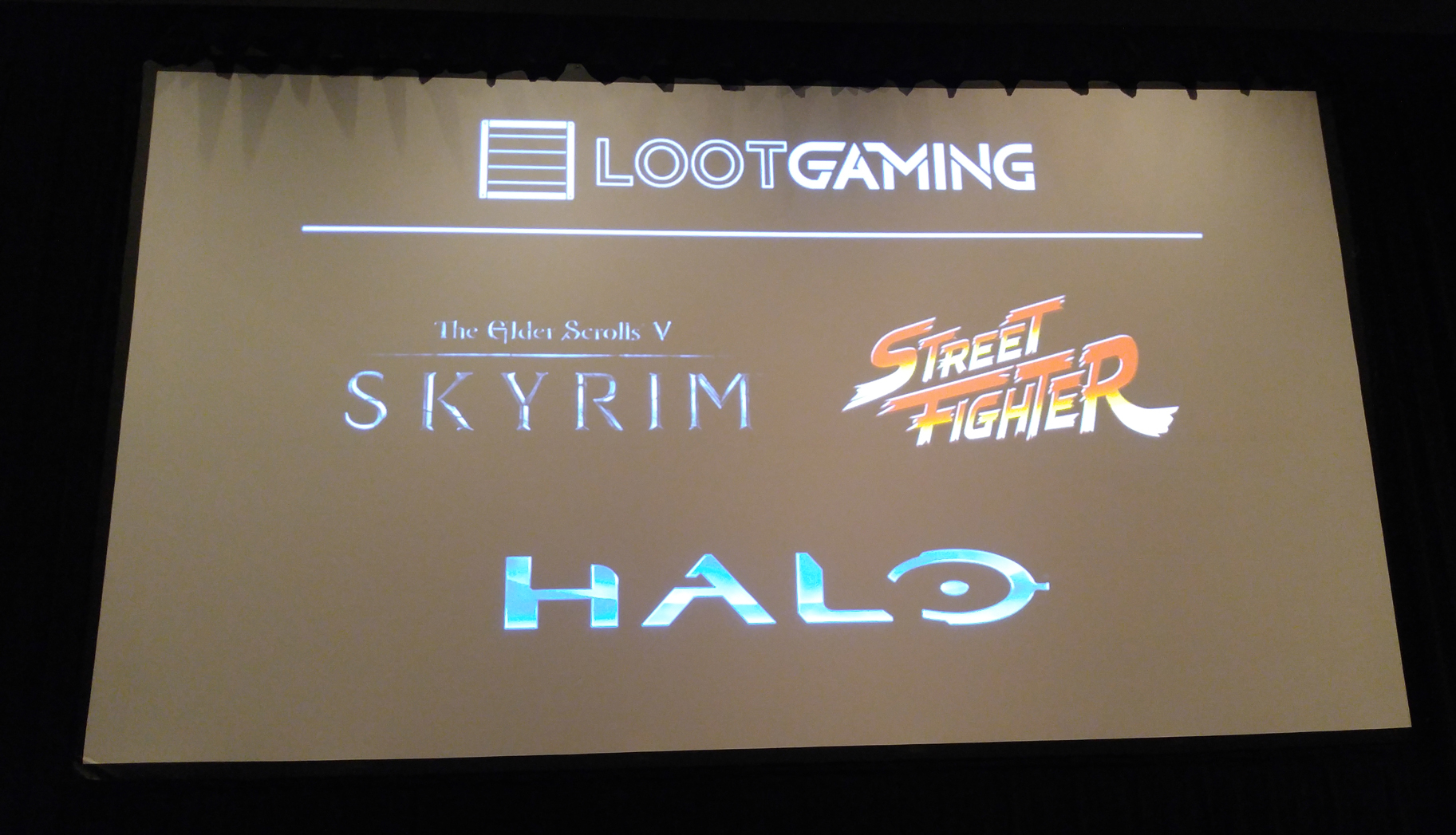 Loot Crate - Loot Gaming - PAX South 2016 - Skyrim, Street Fighter, Halo