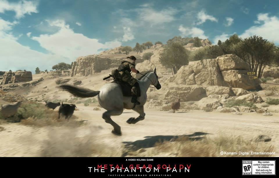 Metal Gear Solid V: The Phantom Pain Horse