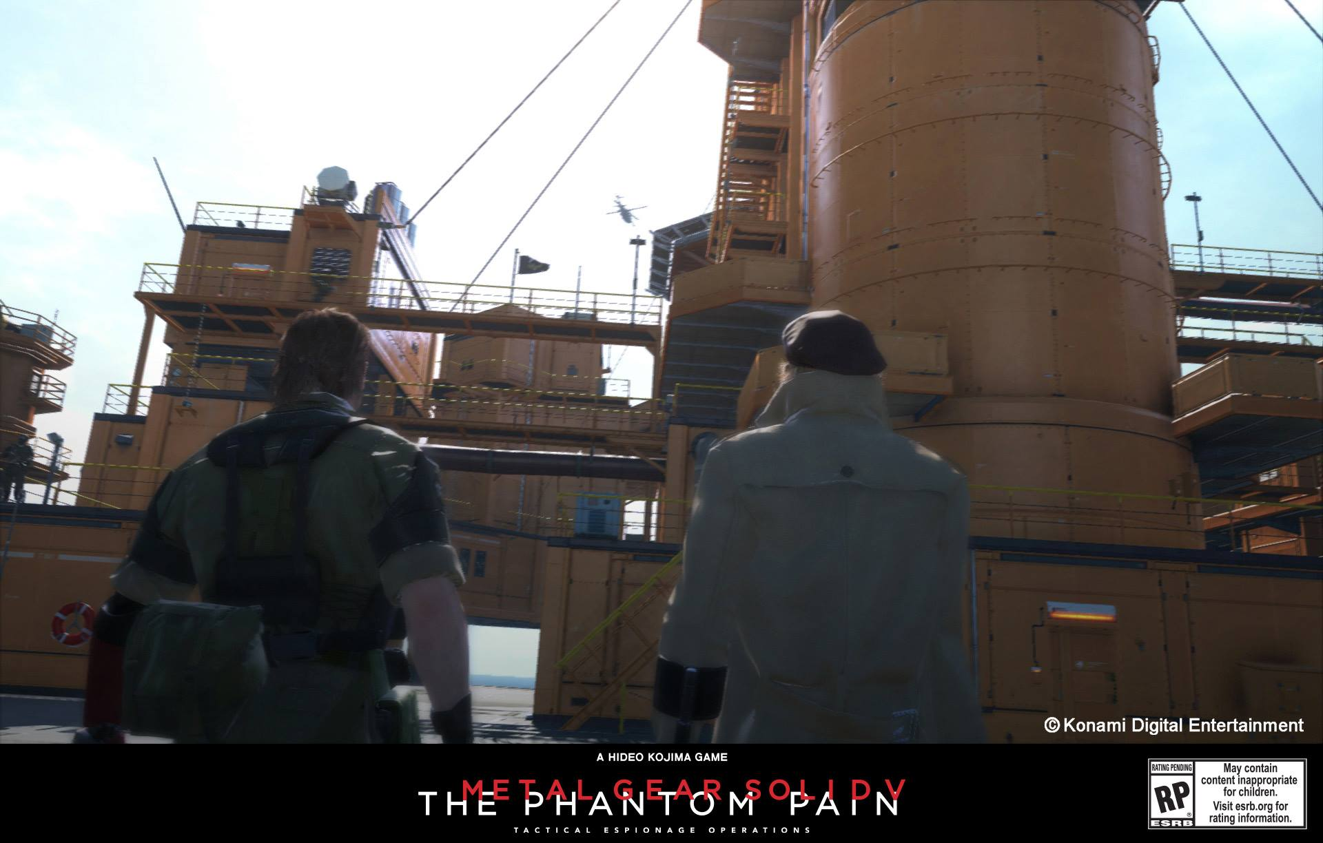 Metal Gear Solid V: The Phantom Pain Mother Base