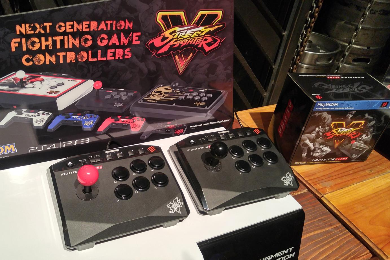 Mad Catz Street FighterV Arcade FightStick TES+ Controlller Driver Download