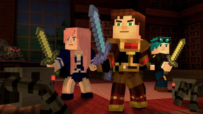 Minecraft: Story Mode Episode 6 - A Portal to Mystery' Will