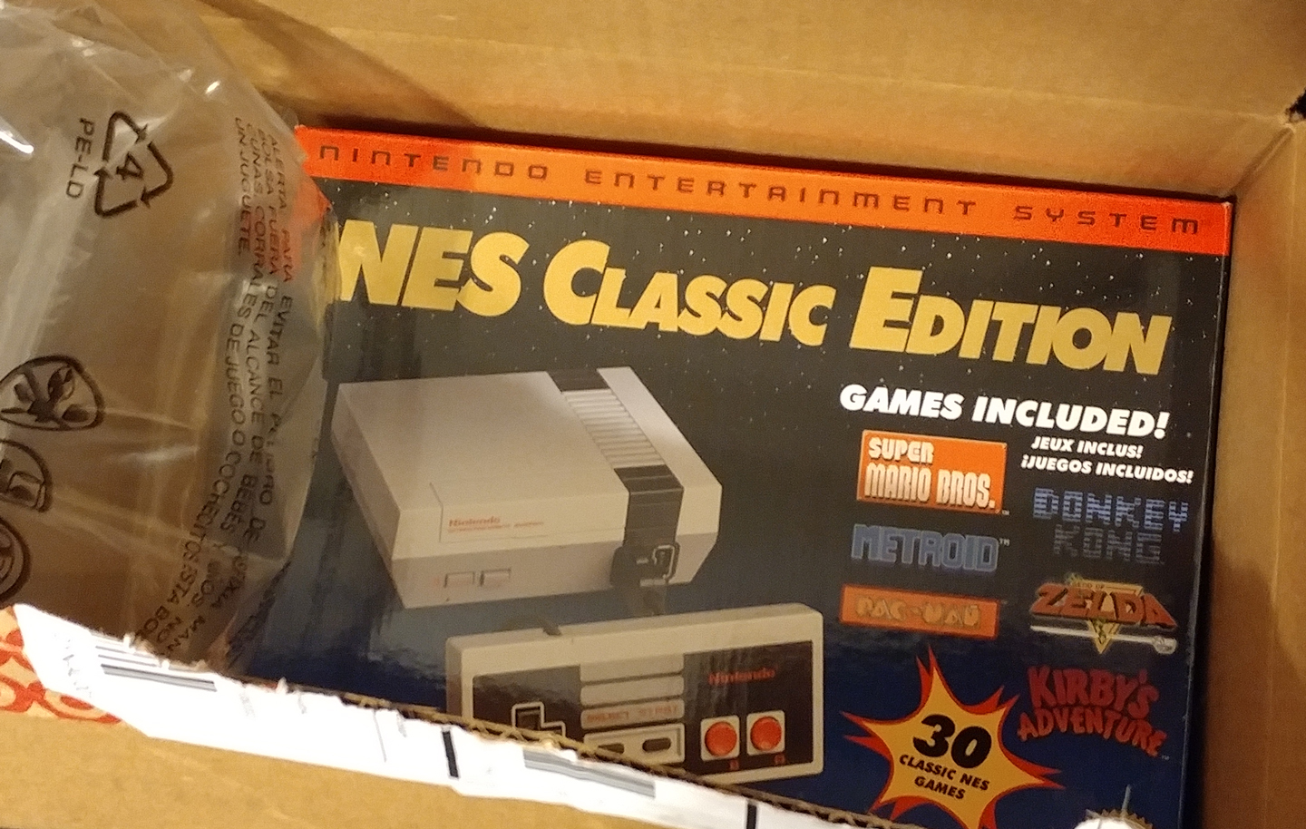 NES Classic Edition HDMI USB 30 games target preorder