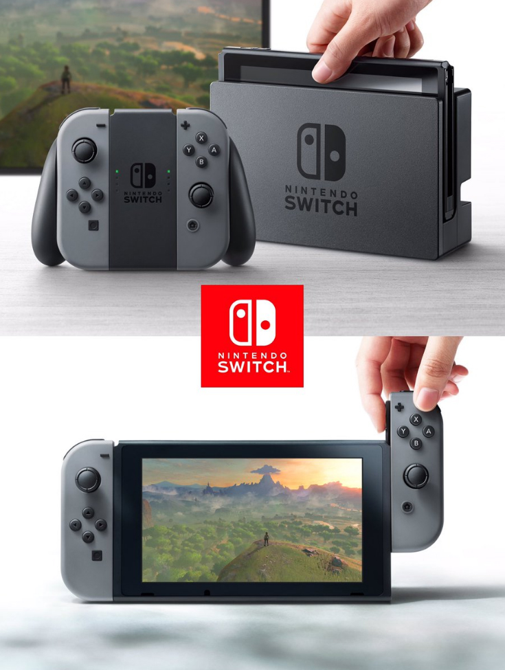 Nintendo Switch controller, cradle, features