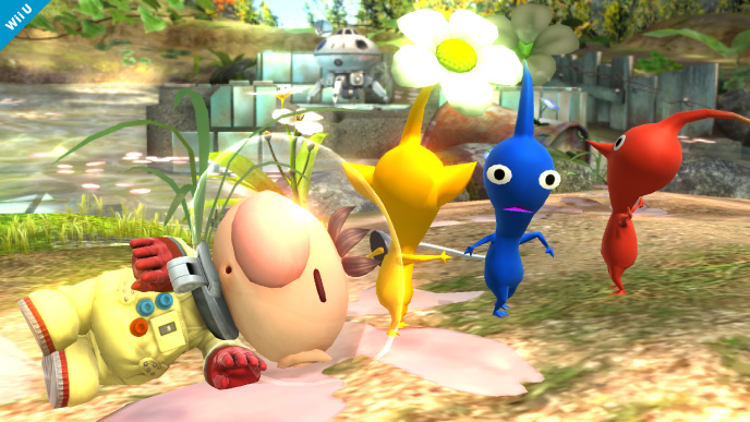 Super Smash Bros. for 3DS Fighter Roster List Olimar Moveset Pikmin Strategy