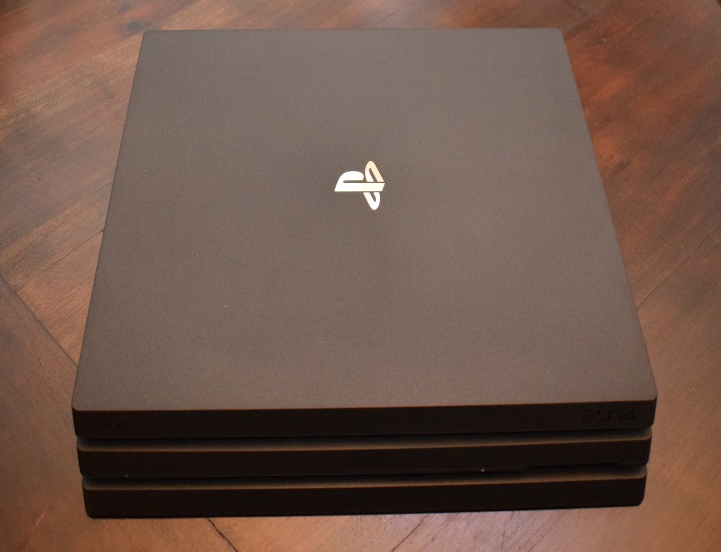 PS4 Pro Unboxed Top Front