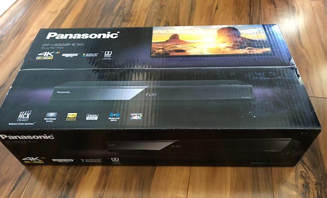 The Next Oppo: Panasonic DP-UB820 4K Ultra HD Blu-ray Player