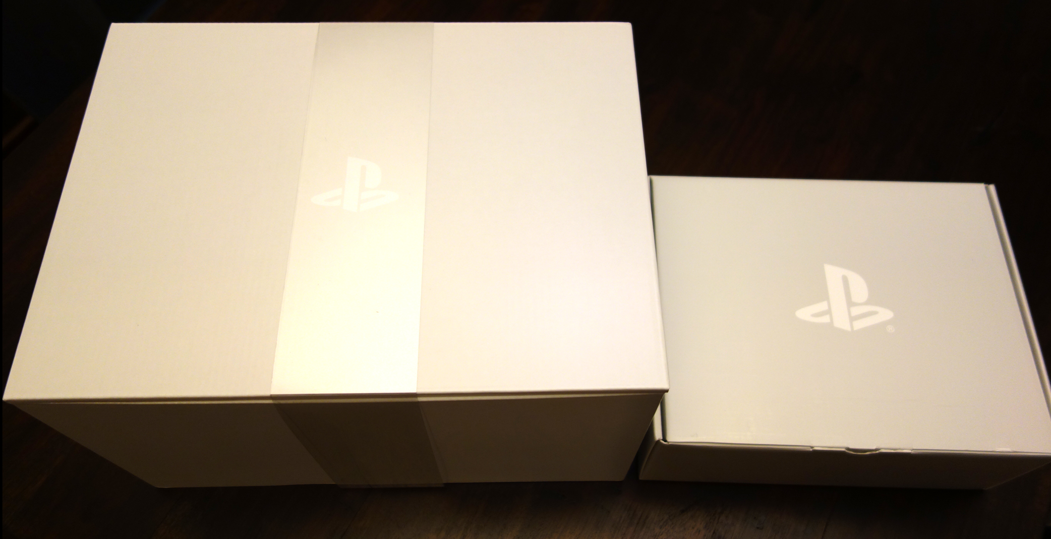 PlayStation VR Launch Bundle Unboxing, Two Inner Boxes