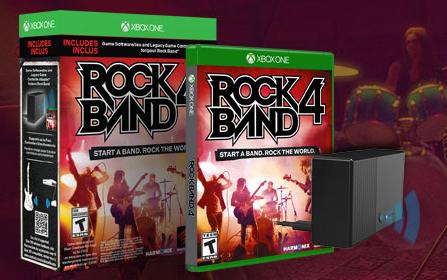 Rock Band 4 Standalone Pre-Order Details
