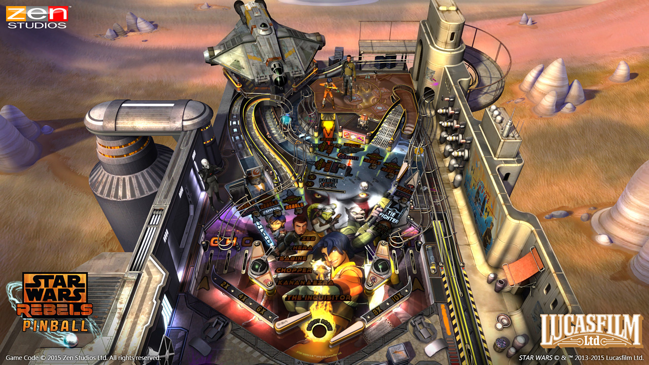 Star Wars Pinball: Star Wars Rebels screen