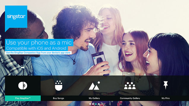 SingStar App for PS4 and PS3