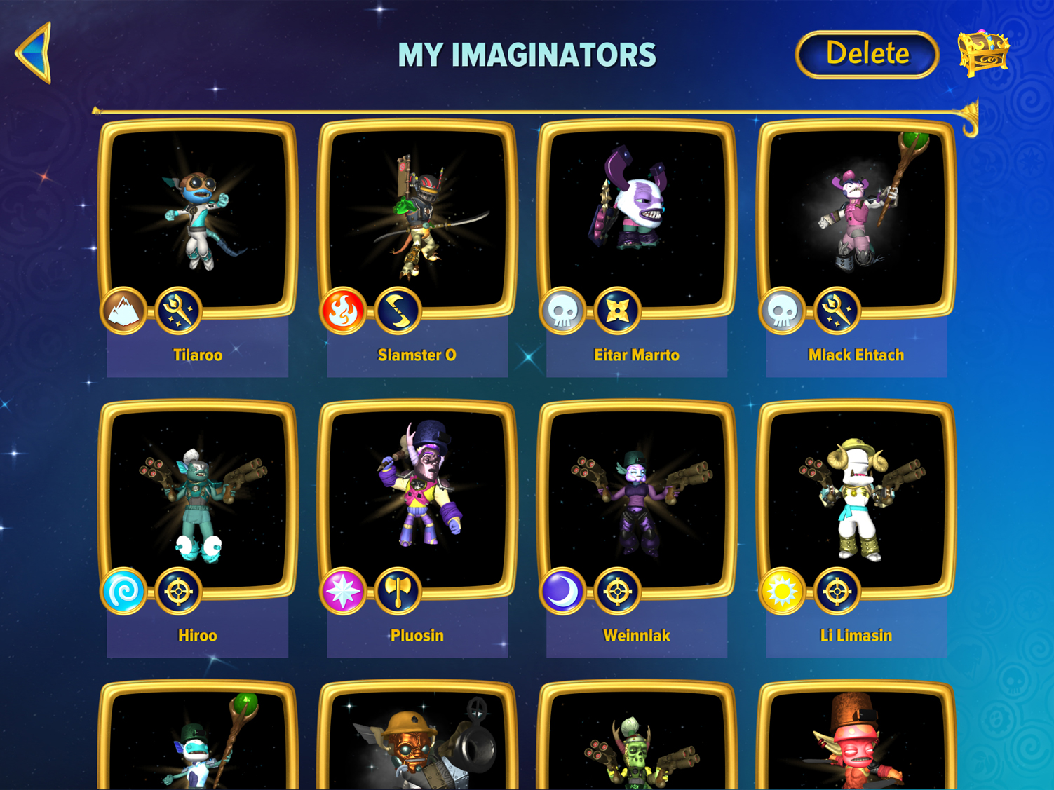 Skylanders Creator App My Imaginators Gallery Example