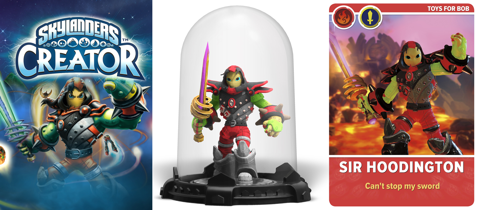 Skylanders Creator custom 3D Printed Imaginator Figure, Card, app, Imaginators,