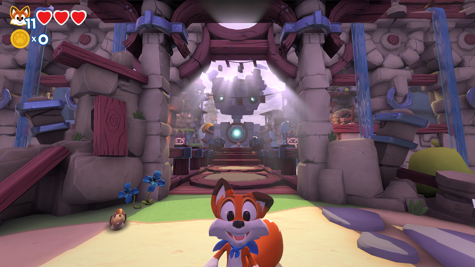 Super Lucky's Tale Xbox One X screen
