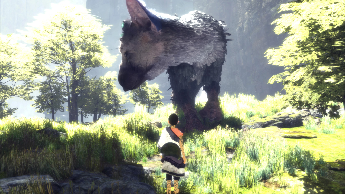 The Last Guardian PS4 Pro