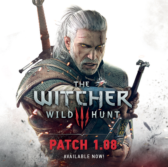 The Witcher III: Wild Hunt Patch 1.08