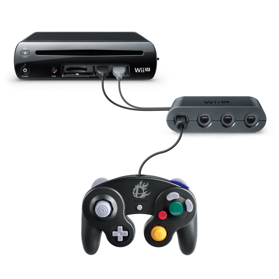 GameCube Controller Adapter for Wii U connections