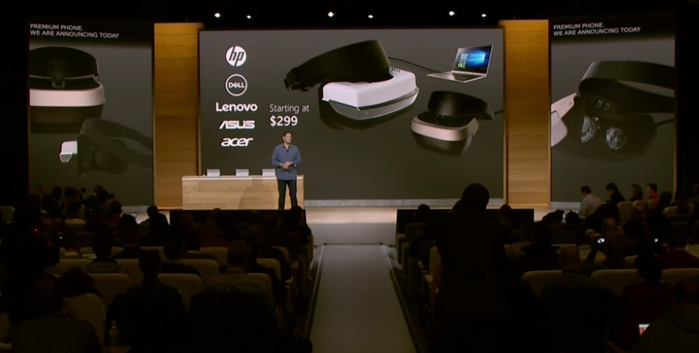 Microsoft Windows 10 VR Headsets HP, Dell, Lenovo, Asus, and Acer