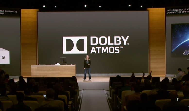 Microsoft Xbox One & Xbox One S audio bitstream & dolby atmos announcement update