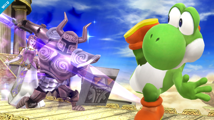 Super Smash Bros. for 3DS Fighter Roster List Yoshi Movest Strategy