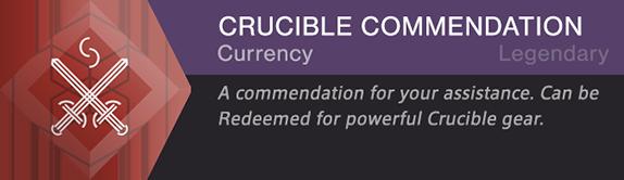 Crucible Commendation