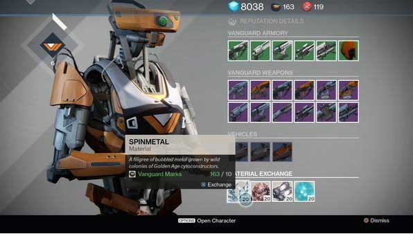 Crucible quartermasters in the tower using vanguard and crucible marks