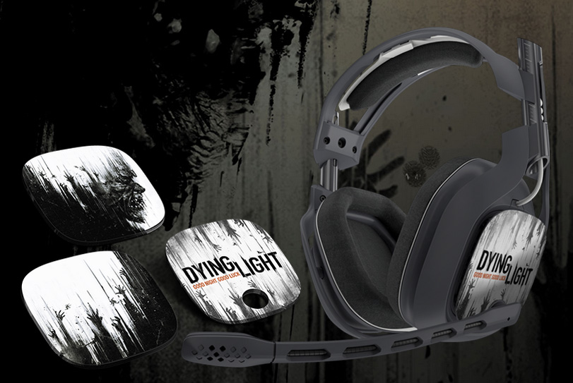 Astro A40 Dying Light clawing speaker tags