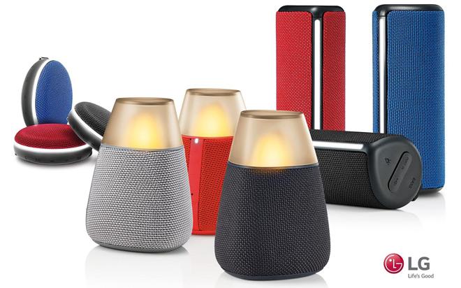 LG Bluetooth speakers unveiled ahead of IFA 2016