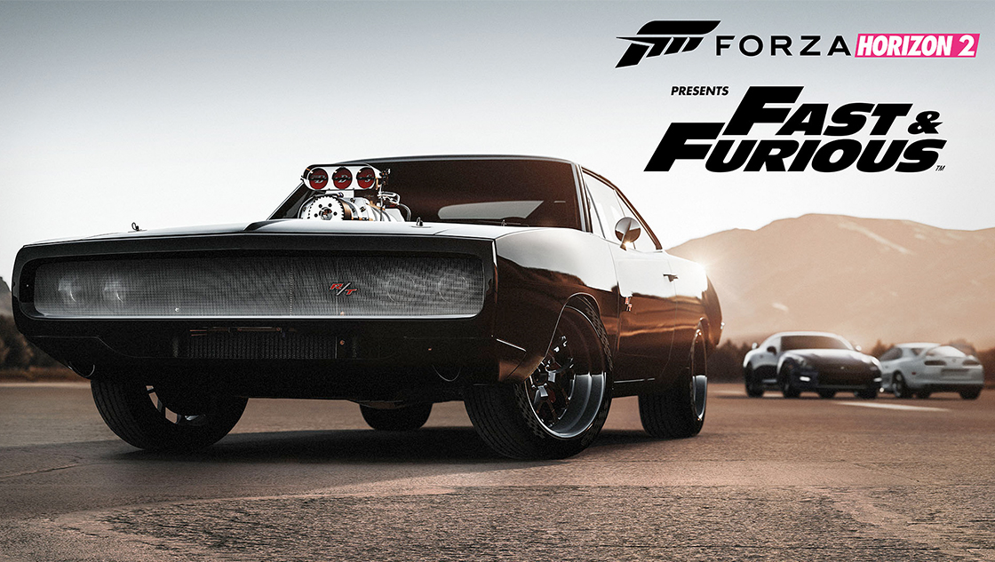 Forza Horizon 2 Presents Fast & Furious teaser cars charger gtr, supra