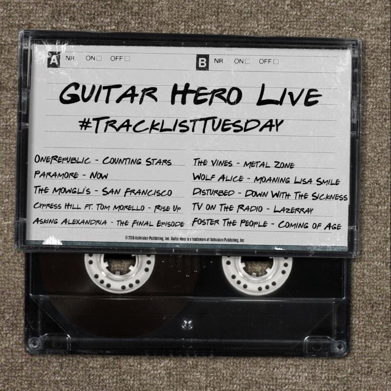 Guitar Hero Live 071415 Tracks