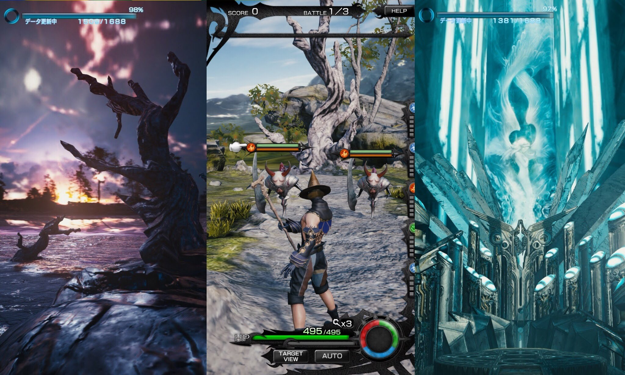 Mobius Final Fantasy' Releases on August 3rd