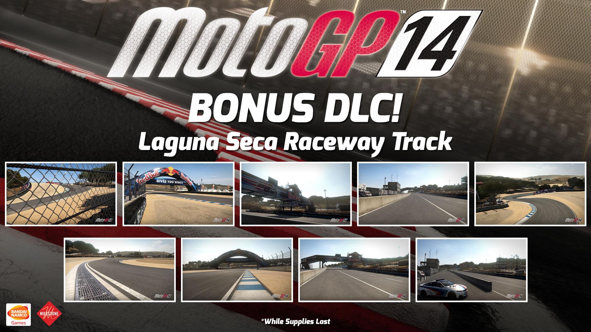 Laguna Seca PS4 DLC Free For 'MotoGP 14' If Purchased at GameStop   High-Def Digest