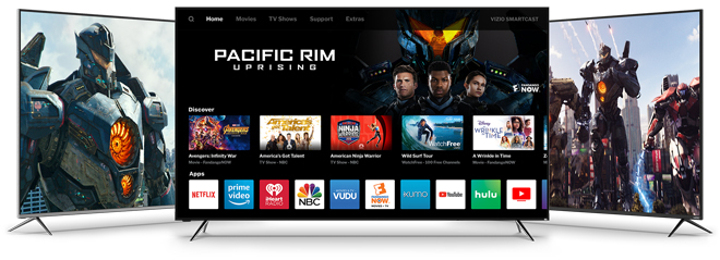 VIZIO Adds New Apps and Features to SmartCast Home Platform