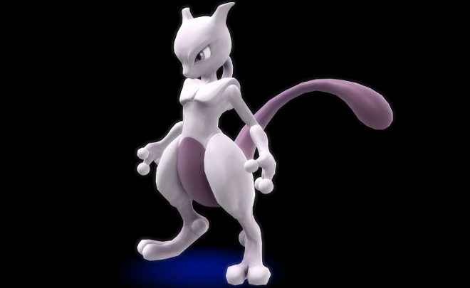 Super Smash Bros for Wii U Nintendo Direct Details Release Date Mewtwo
