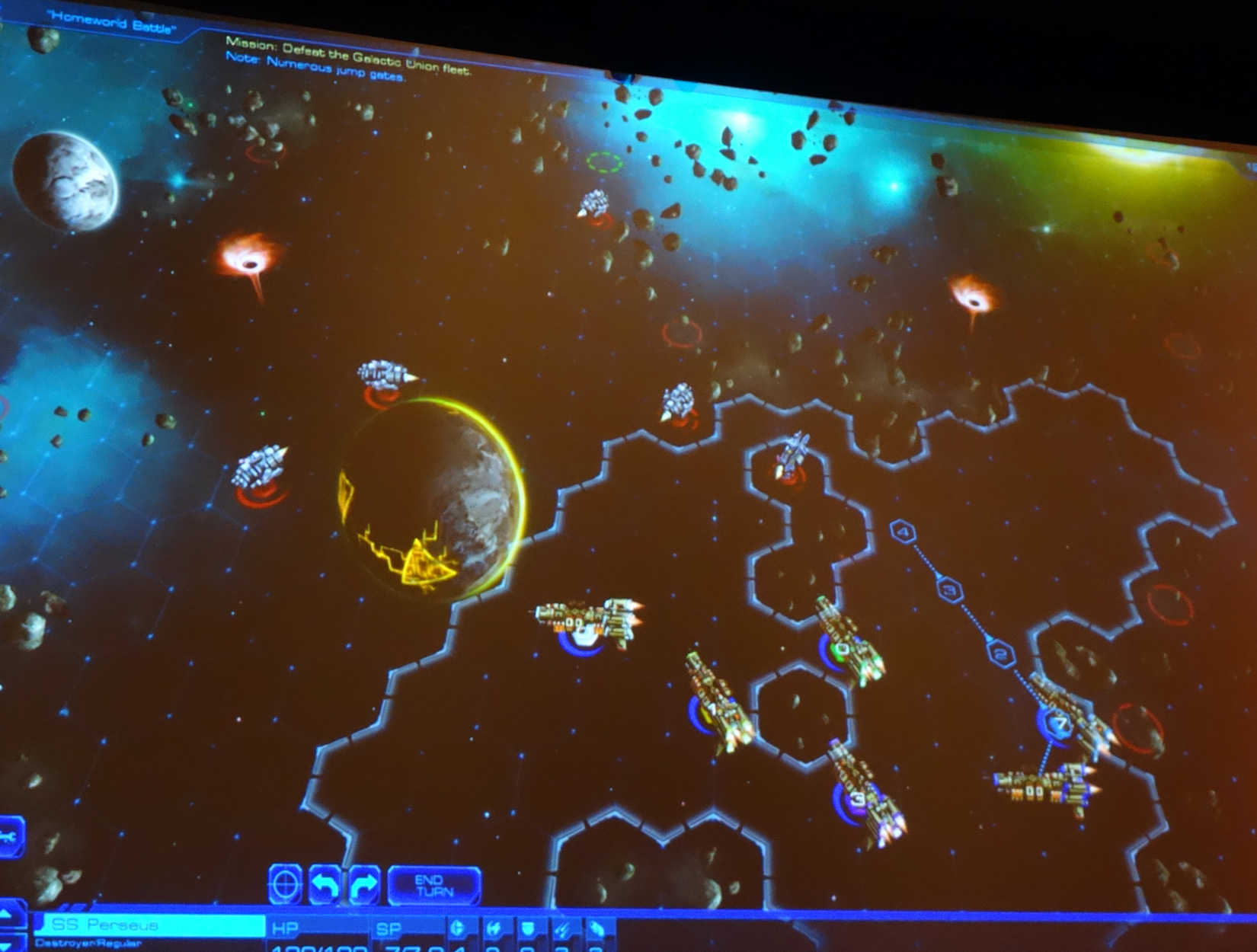 Impressions: 'Sid Meier's Starships' combat