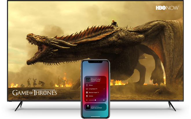 VIZIO Rolls Out Apple AirPlay 2 & HomeKit Update for
