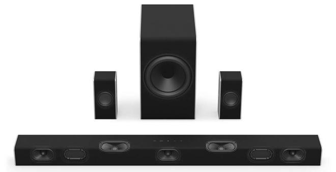 VIZIO SB36512-F6 5 1 2-Channel Dolby Atmos Sound Bar System Gear