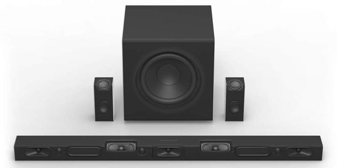 VIZIO SB46514-F6 46-Inch 5 1 4 Dolby Atmos Sound Bar System