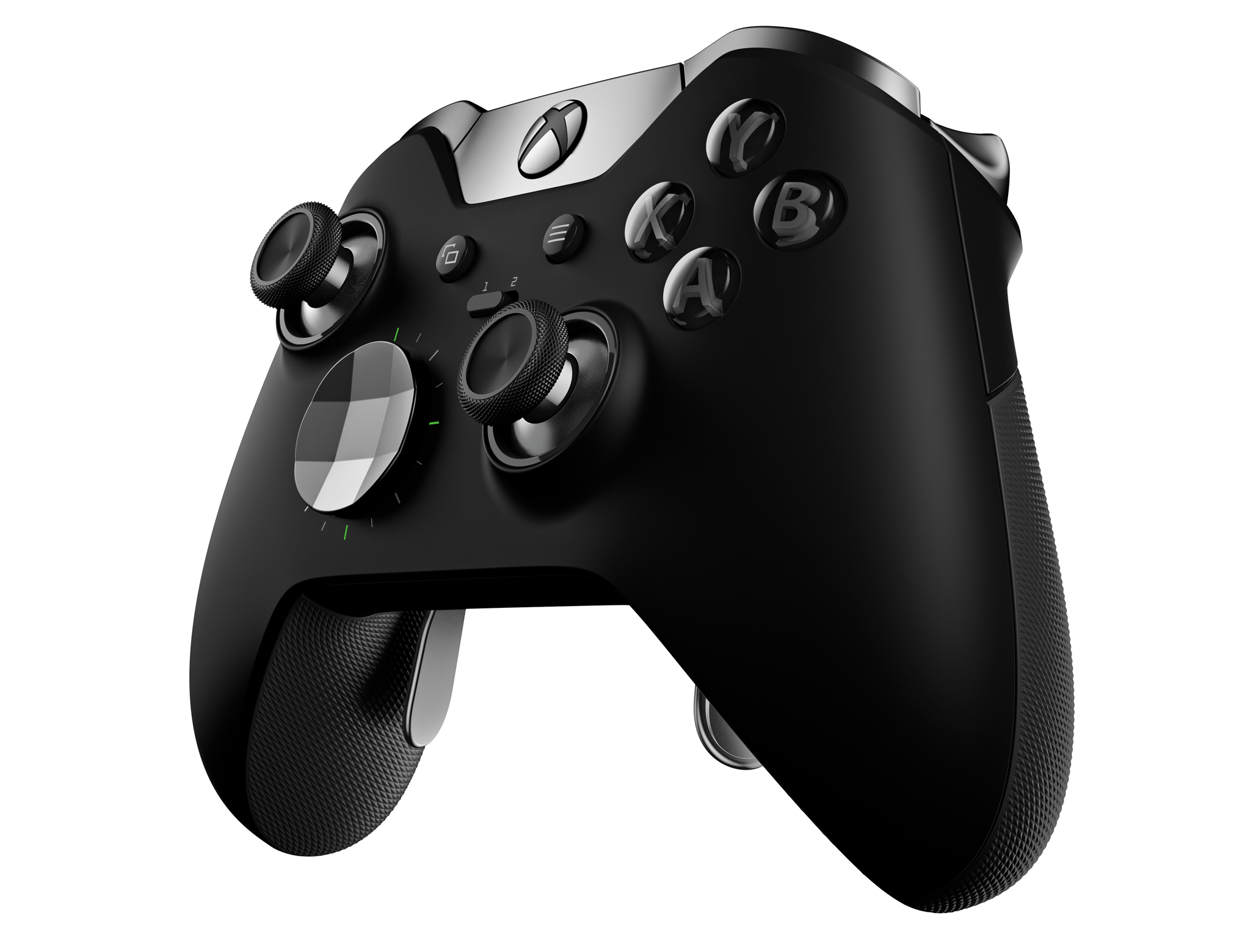 Xbox Elite Controller side view